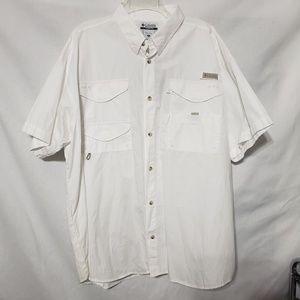 NWT COLUMBIA PFG Button Down Shirt